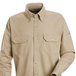 تصویر Mens Cotton Industrial Workwear Working Clothing Workers Shirts