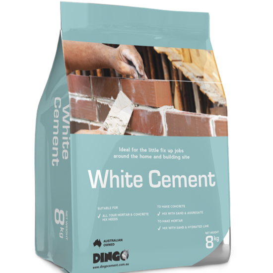 Picture Of Handy pack white cement