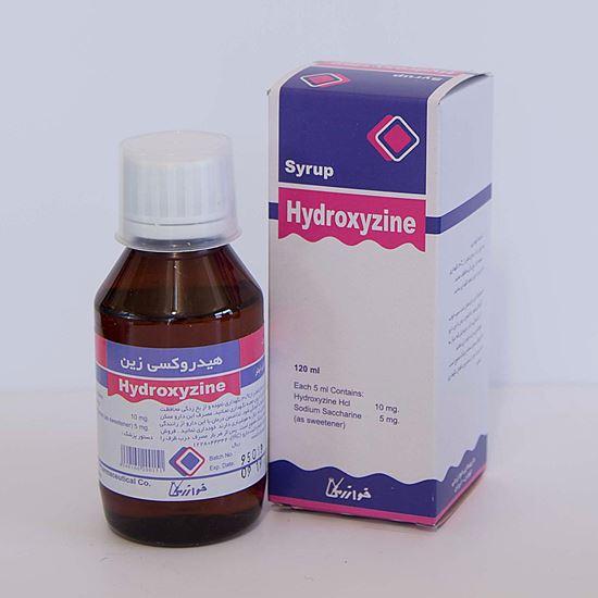 Picture Of HYDROXYZINE-KHARAZMI 10MG/5ML 120 ML